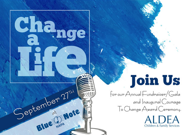 SAVE THE DATE: Annual Fundraiser/Gala & Inaugural Courage To Change Award Ceremony
