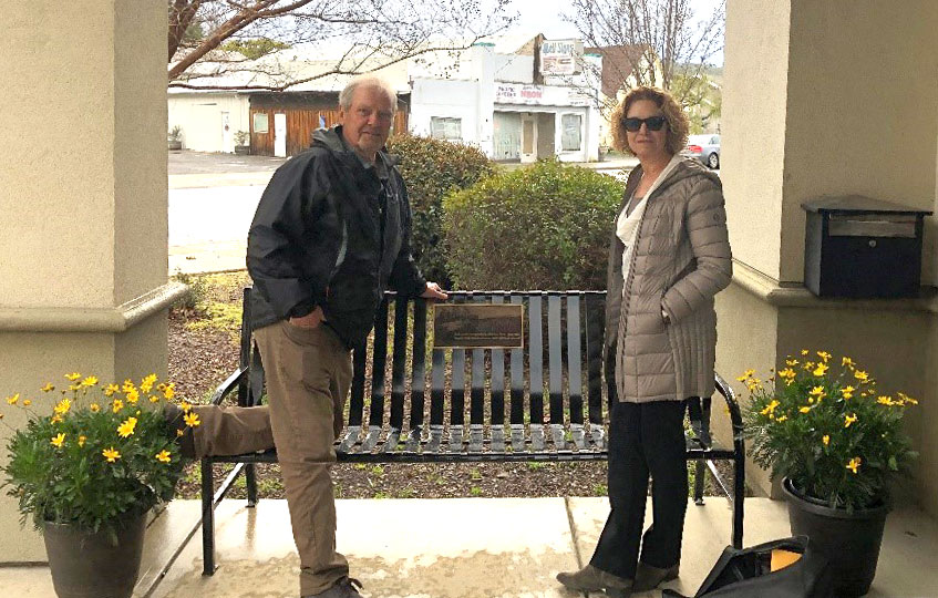 Michael Senn Memorial Bench Dedication