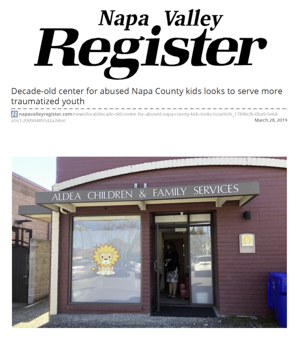 Decade-old center for abused Napa County kids looks to serve more traumatized youth